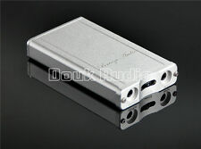 Mini Portable Class A Headphone Amplifier HiFi Dual-battery Aluminum thin shell