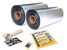 "LIMITED SALE - 10sqft (2 Rolls 18""x3'4"") GTMAT Ultra 80mil Car Sound Deadener"