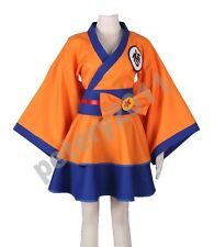 Dragonball Z Kimono Dress Son Goku Character GO Kakarotto Anime Cosplay Costume