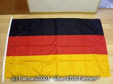 Fahnen Flagge Deutschland Poly Plus mit Haken -100 x 150 cm