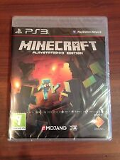 New Minecraft Playstation 3 Edition Sony PS3 Sealed UK PAL Game In Stock