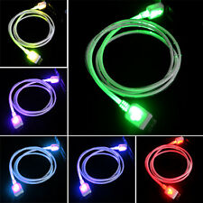 USB 3.0 Charger LED Flash Color Glow Micro Cable for Samsung Galaxy S5 Note3