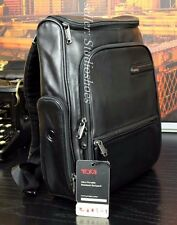 "TUMI 14"" Lambskin Leather Ultra Portable Notebook Laptop Backpack Briefcase $395"
