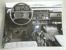 Mercedes Cross Country interior press photo brochure c1980's ref 82 098/11
