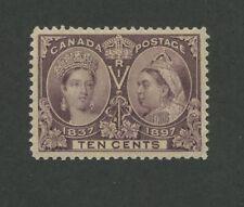 Queen Victoria 1897 Canada 10c Stamp #57 Scott Value $160