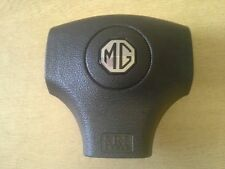 MGTF LE500 DRIVERS AIRBAG BLACK AND SILVER LOGO (Genuine New) GT MG SPARES LTD