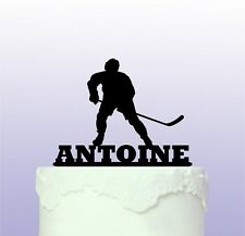 Personalised Ice Hockey Cake Topper