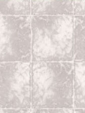 Faux Marble Tile Wallpaper in Taupe/Gray & Off-Whites   TS38033