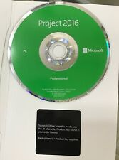 Microsoft Project Professional 2016 - BRAND NEW - for 2 PC's (32-bit and 64-bit)