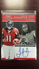 Julio Jones 2011 Panini Contenders Rookie Ink On Card Auto Rookie Card RC Rare !