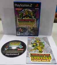SONY Playstation 2 PS2 PAL ITALIANO TEENAGE MUTANT NINJA TURTLES MUTANT MELEE It