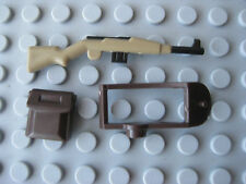 Custom WW2 Kit for Lego Minifigures- Supply Strap, Rucksack, GEWEHR 43