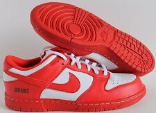 NIKE DUNK LOW iD RED-WHITE SZ 11.5 [605284-991]
