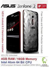 """Asus Zenfone 2 Deluxe ZE551ML 5.5"""" Android 6 Smartphone Dual SIM 4GB RAM"""