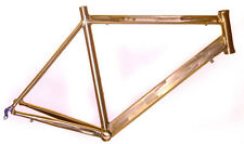 Road Tri Bike Frame 55cm Medium  700c 6061 Aluminum Unpainted + Headset NEW