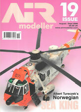 Air Modeller 19 Norwegian Westland Mk43 Sea King Tamiya P-51B Bf110 Spitfire