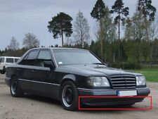 Mercedes W124 C124 AMG Style front bumper spoiler chin lip addon valance trim
