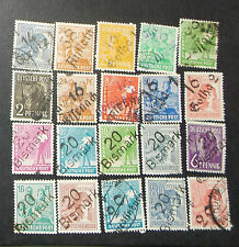 Germany States- used - 20 stamps- G-208