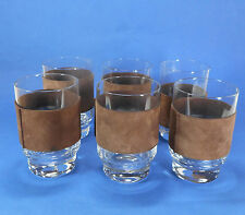 Set of 6 Drinking Glasses Style of  Carl Aubock / Auböck - Austria 1950s / 1960s