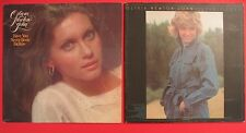 OLIVIA NEWTON-JOHN Have You Never Been Mellow AND Clearly Love Vinyl Record LPs