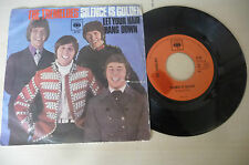 "THE TREMELOES""SILENCE IS GOLDEN- disco 45 giri CBS Italy 1967"" RARO"
