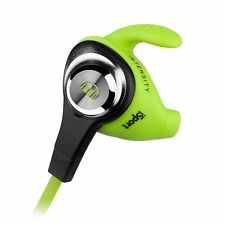Monster iSport Intensity In-Ear Headphones (Green) 050644703881 Tough Durable