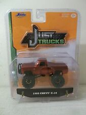 2015 JADA TOYS 1/64 SCALE JUST TRUCKS 1985 CHEVY C-10 RED