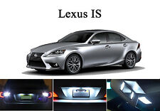 LED Package - License Plate + Vanity + Reverse for Lexus IS 250 IS 350 IS F 6Pcs