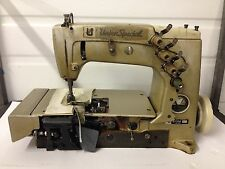 UNION SPECIAL 57700  2 NEEDLE COVERSTITCH W/EDGECUTTER INDUSTRIAL SEWING MACHINE