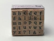 Studio G Alphabet 30 Stamp Set Series 1 Lowercase Letters New Sealed ABC'S 1/4""