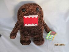 "BROWN DOMO-KUN PLUSH! MEDIUM FIGURE ANIME DOLL LICENSED BY NANCO BRAND 9-10"" NWT"