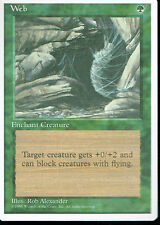 MAGIC THE GATHERING 4TH EDITION GREEN WEB