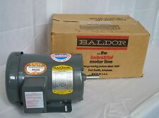 Baldor M3554 Electric Motor 3 PH - 1 1/2 HP - 1725 RPM - 60 HZ - 208 230 460 V