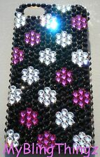 DOTS Crystal Rhinestone Bling Back Case for iPhone 4 4S with Swarovski Elements