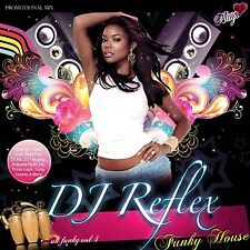 DJ REFLEX FUNKY HOUSE MIX CD VOL 4