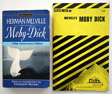Lot 2 PB: Moby-Dick by Herman Melville and Cliffs Notes Study Guide