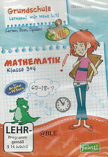 CD-ROM + Lernspaß mit Hexe Lilli + Mathematik 3. und 4. Klasse + Lernen + Üben
