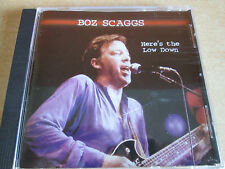 Boz Scaggs - Here's the Low Down (1998)  CD  NEW  SPEEDYPOST