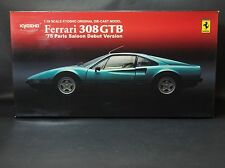 FERRARI 308 GTB 1975  Paris Saloon Debut Edition - KYOSHO 1:18 scale