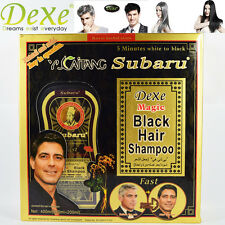 Dexe Subaru Black Hair Color Magic Shampoo Hair White to Black Only in 5 Minutes