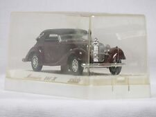 "Solido #4000  ""RARE""Mercedes-Benz 540K-Burgudy - NEW-Mint in Original Box"