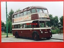 PHOTO  READING TRANSPORT BUS - TROLLEY BUS NO 113 ARD 676 AEC 661T PARK ROYAL TI