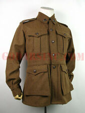 WWI 1st Australian Imperial Force Brown Wool Service Tunic M