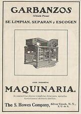 W5269 GARBANZOS - The S. Howes Company - Pubblicità 1913 - Publicitè