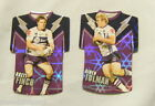 #4. LOT OF TWO 2009 RUGBY LEAGUE FOIL TEAM JERSEY CARDS - MELBOURNE STORM
