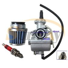 PZ16 Carburettor Air Filter Plug 50cc 70cc 90cc 110cc Quad Pit Dirt Bike Go Kart