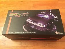Back To The Future Part II DeLorean time machine 1/20 Scale magnetic floating
