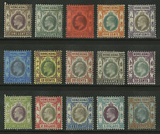 Hong Kong   1903   Scott # 71-85    Mint Lightly Hinged Set - 108 in USED