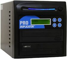 ProDuplicator 1-1 M-Disc Burner 24X SATA CD DVD Duplicator Copier Tower+USB