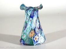 FRATELLI Toso Glas ° Murrinen Glasvase ° Murano nach 1900 °